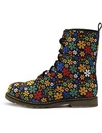 cf1197cfa62e5 Femme de la cheville rétro combat boot Femmes dentelle funky vintage  gothique cheville bottes