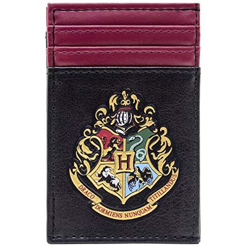 Kostüm Motto Hogwarts - Harry Potter Hogwarts Motto Schwarz Portemonnaie Geldbörse