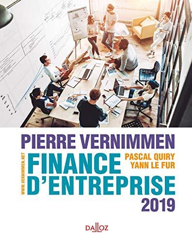 Finance d'entreprise 2019 - 17e éd. par Pierre Vernimmen