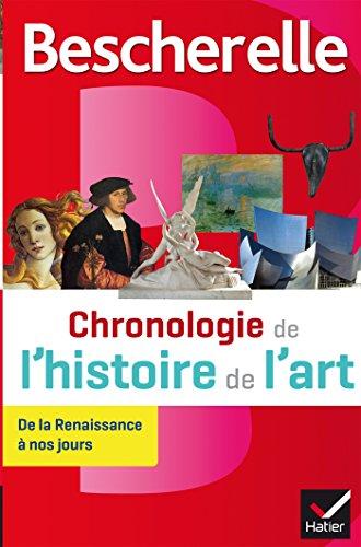 Bescherelle Chronologie de l'histoire de l'art : de la Renaissance à nos jours (Chronologies)