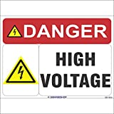 #7: SignageShop High Voltage Sign