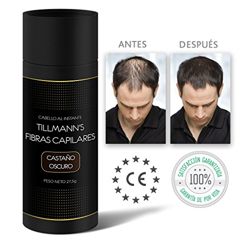 Tillmann's® Fibras Capilares Castaño Oscuro 27