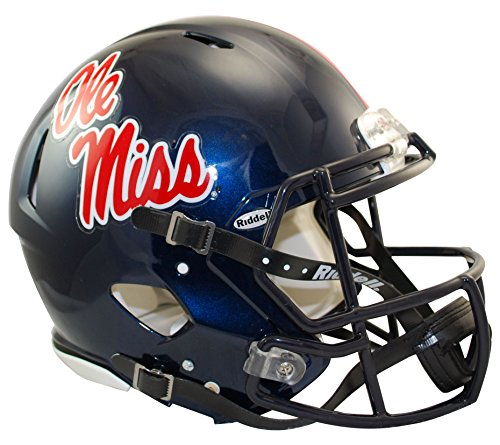 "Riddell Sports NCAA Speed Authentic Helm, blau, 14""x12"""