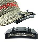 Tookie RV77luminoso 11LED Hat clip Light, vivavoce Outdoor Light perfetto per le riparazioni di pesca, caccia, campeggio
