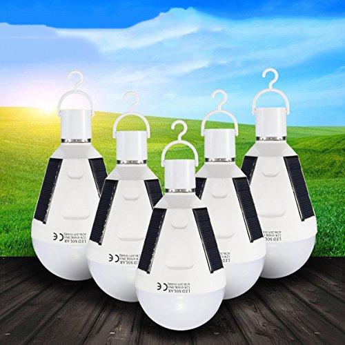 Sonnenkollektor Angetrieben LED Lampe Notfall Lampen Camping Lichter Menge ()