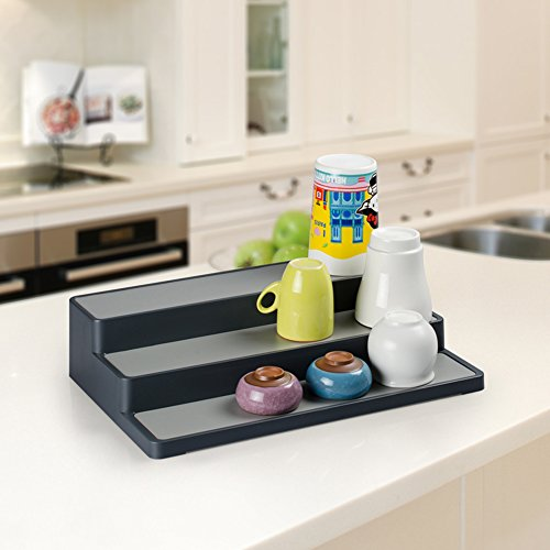 Durable Plastic Layer Kitchen Spice Rack Shelf Organizer Kitchen - Plastic spice racks for kitchen cabinets