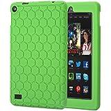 "Bepack Fire 7 2015 Funda, Silicona peso Ligero Durable Cover Case Potectora para Amazon Fire 7 Kids Edition Tablet (7 ""pantalla 5th generación)"