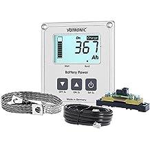 Votronic 1266LCD de batería de ordenador 200S Smart Shunt y masa de banda