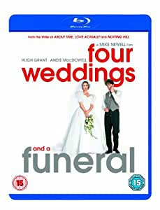 Four weddings and a funeral blu ray hugh for Four weddings and a funeral director mike