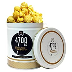 4700BC Sour Cream & Wasabi Cheese Popcorn, Tin, 50g
