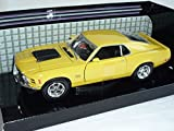 Ford Mustang Boss 429 Gelb 1970 Coupe 1/24 Motormax Modellauto Modell Auto