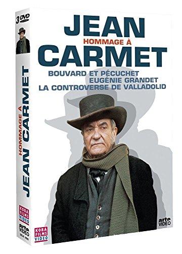Bild von Hommage à Jean Carmet : Bouvard et Pécuchet / Eugénie Grandet / La controverse de Valladolid - Coffret 3 DVD [FR Import]