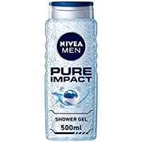 NIVEA, MEN, Shower Gel, Pure Impact, 500ml
