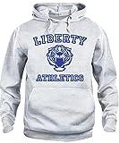 iMage Felpa Cappuccio Unisex Liberty Athletics 13 - Serie TV S-Grigio Sport