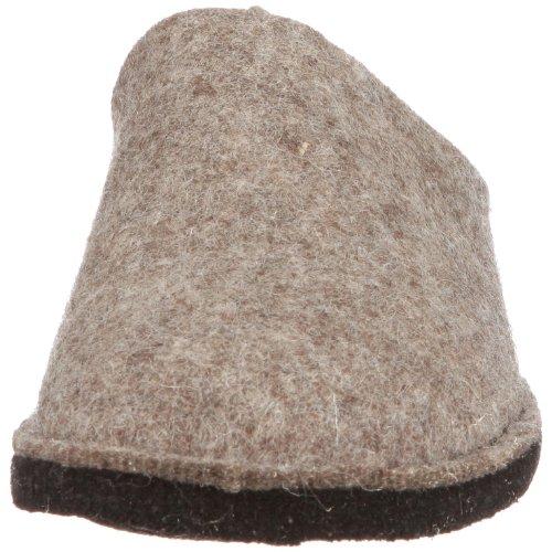 Haflinger Soft 311010 Unisex - Erwachsene Pantoffel Braun (Torf 550)