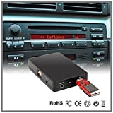 Auto Stereo USB SD AUX MP3 CD Wechsler Adapter Interface BMW 5 Serie E39 7 Serie E38 Business Kassette
