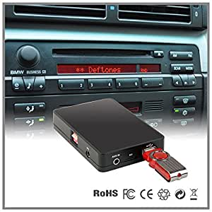 auto stereo usb sd aux mp3 cd wechsler adapter. Black Bedroom Furniture Sets. Home Design Ideas