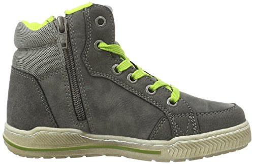 TOM TAILOR Kids Jungen 1670404 High-Top Grau (coal-neon)