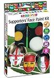 Snazaroo Face Paint Palette Kit, Supporter