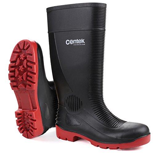 Centek Unisex FS338 Compactor Waterproof Safety Wellington Boots