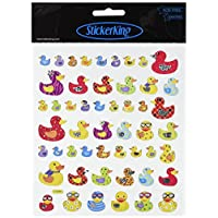 Tattoo King Multi-Colored Stickers-Mult-Patterned Ducks