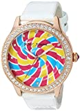 Best Johnson Watches - Betsey Johnson Women's Quartz Metal and Leather Casual Review