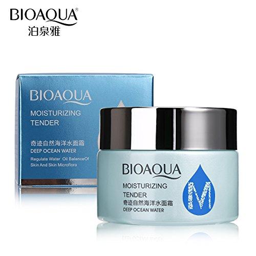 Tyro BIOAQUA Brand Moisturizing Face Cream Deep Ocean Water Natural Skin Care Oil Control Anti Wrinkle Hydrating Whitening Day Creams
