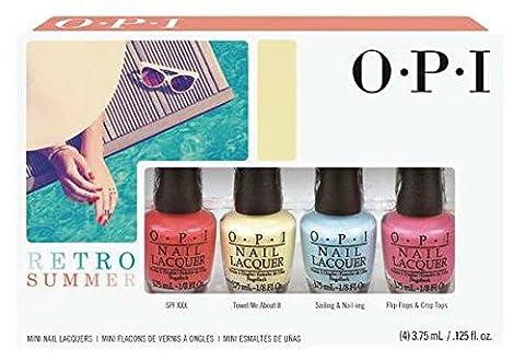 Nagellack OPI Mini Kit,Retro, Summer