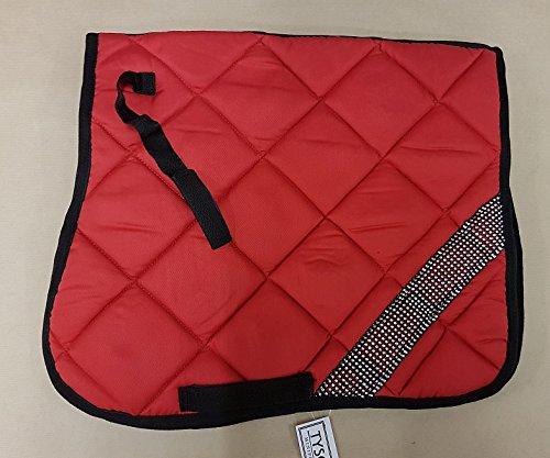 Schabracke Polly Glitzer Satteldecke Minishetty Minipony Shetty Falabella Grün Rot Blau Braun Tysons (Shetty, Rot)