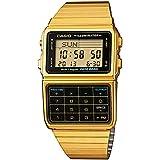 Casio DBC-611GE-1EF - Reloj digital de cuarzo para hombre con correa de acero inoxidable, color dorado