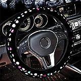 LFEWOX Alquiler de Moda Invierno Creative Diamond Plush Tapa DE Volante