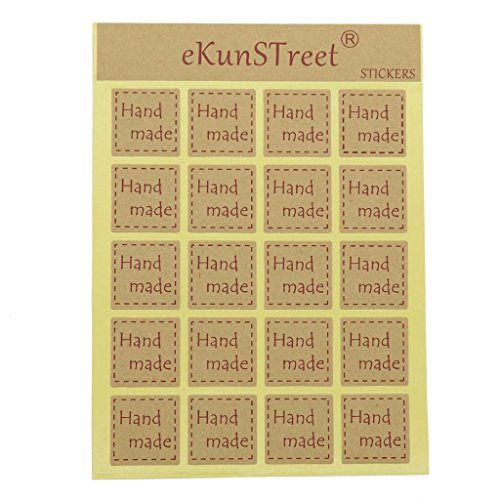 eKunSTreet ® 100 Stück (5 Blatt)...