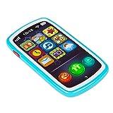 WINFUN colorbaby Telefono Cellulare Musicale per Bambini, Colore Blu (colorbaby 44523)