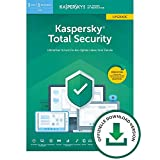 Kaspersky Total Security 2019 Upgrade | 3 Geräte | 1 Jahr | Windows/Mac/Android | Download | Upgrade | 3 Geräte | 1 Jahr | PC/Mac | Online Code -