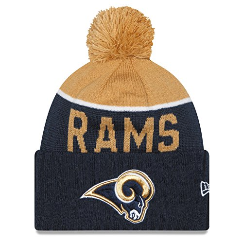 St. Louis Rams New Era 2015 NFL Sideline On Field Sport Knit Hat Hut