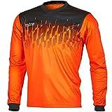 Mitre-Maglia da Portiere Command Football Match Day Camicia, Uomo, Command Goalkeeper, Tangerine/Black, XL