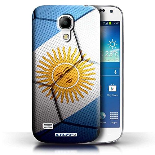 Kobalt® Imprimé Etui / Coque pour Samsung Galaxy S4 Mini / Espagne/Espagnol conception / Série Nations de Football Argentine