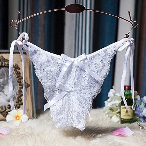 YUPN Sra ropa interior Tiras transparentes thong Underwear Panty bikini bragas,un onesize