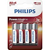 Philips - Power Alkaline - AA Batterie ,4 er pack