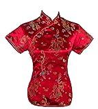 Best Phoenix Womens Tops - UK Seller Chinese Red Dragon & Phoenix Short Review