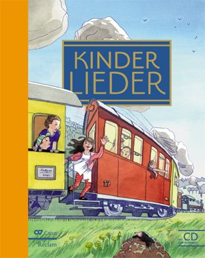 Noten Vokalmusik - Kinderlieder-Buch inkl.Mitsing-CD