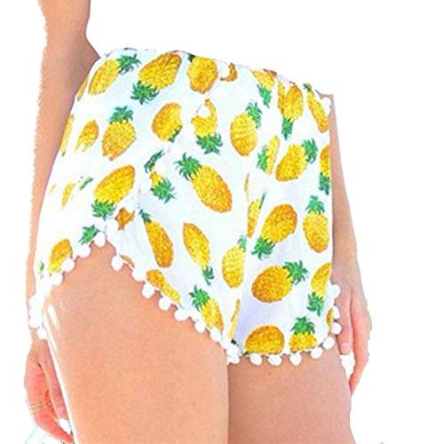 O-C Girls beach shorts Hawaii style summer beach pants (Style Safari Kleid)