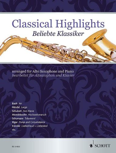 Classical Highlights - arranged for Alto...