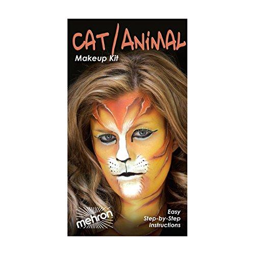 (3 Pack) mehron Character Makeup Kit - Cat/Animal