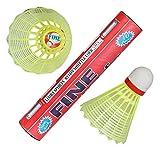 #6: FN-10 Fine Badminton Nylon Shuttlecocks (Pack of Ten).