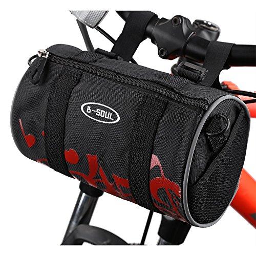 Fahrrad Tasche Fronttasche Mountainbike Lenkertasche Radsport Rahmentasche Red Number