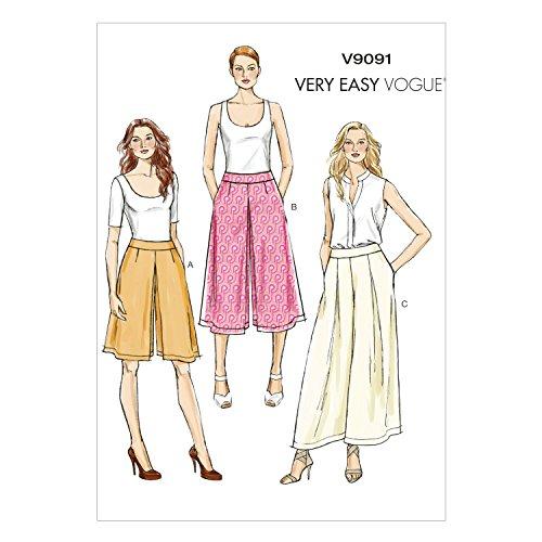 Preferenza Vogue Patterns VV9091 - Cartamodelli per gonna pantalone e  UH29