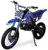 Actionbikes Motors Midi Kinder Jugend Crossbike Predator 125 cc -