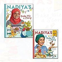 nadiya hussain nadiya's bake me a story[hardcover] 2 books collection set - (nadiya's bake me a story: world book day 2018)