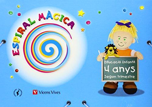 Espiral Màgica. Segon Trimestre. Comunitat Valenciana. 4 Anys (Espiral Magica Material Alumno)